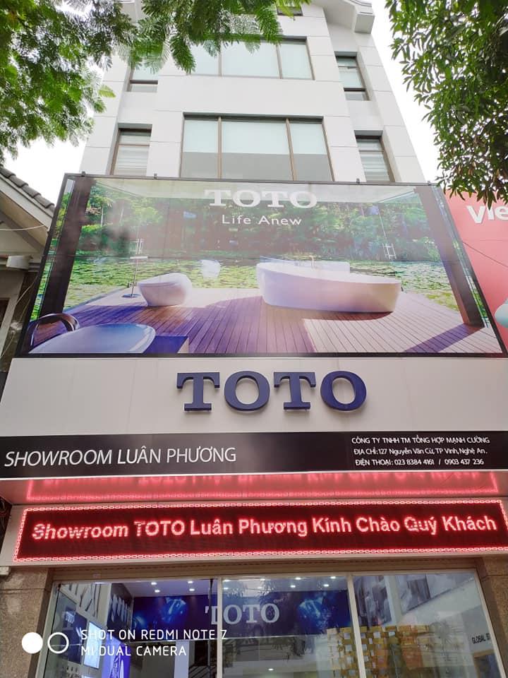 TOTO Mạnh Cường-Showroom Luân Phương