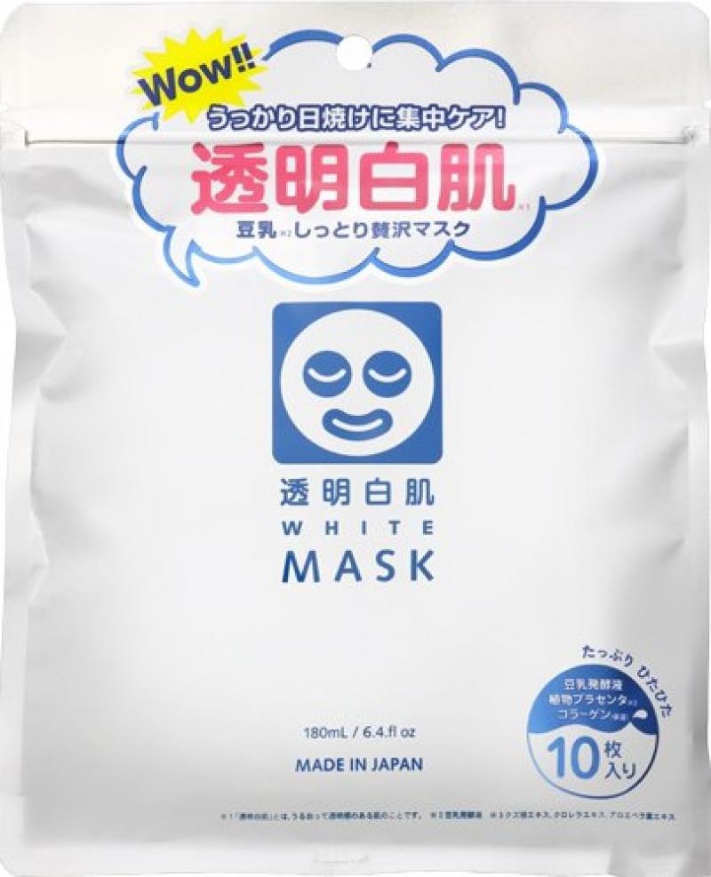 Toumei Shirohada White Mask