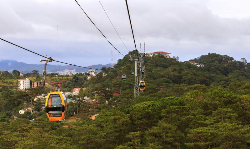 Dalat Cable Car Hill