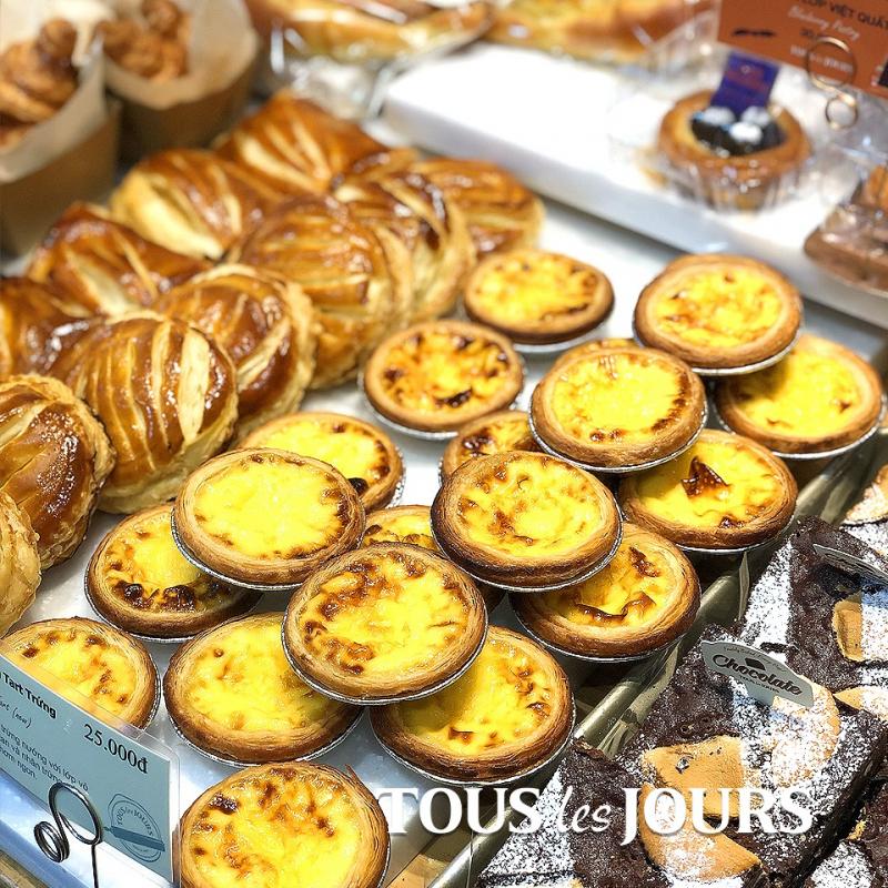 Top 5 địa chỉ bán bánh tart trứng ngon nhất ở TPHCM
