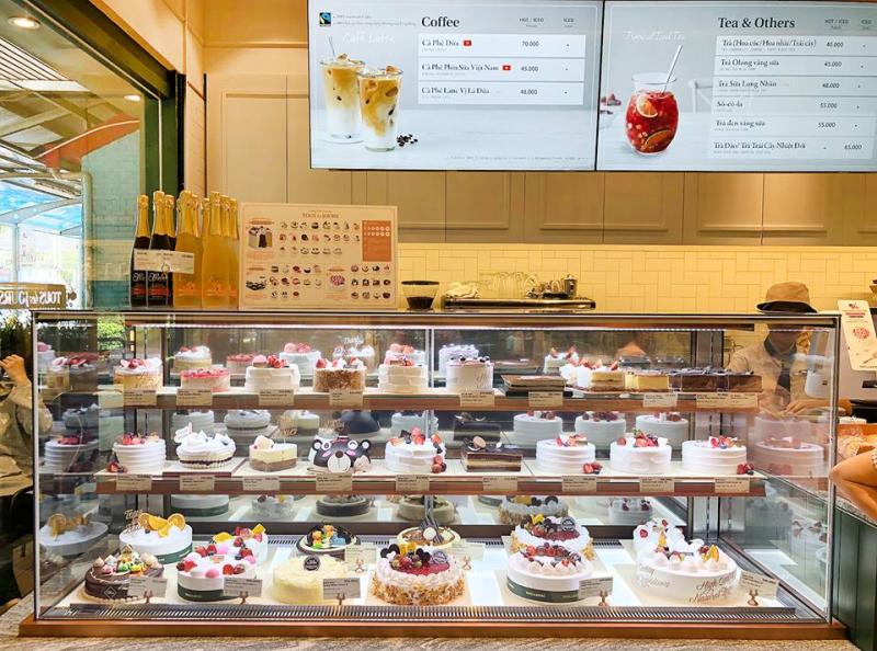 Rất đa dạng các loại bánh