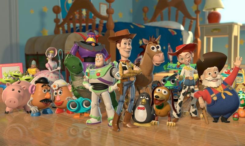 Những nhân vật đồ chơi trong phim chắc chắn khiến mọi trẻ em phải trầm trồ.