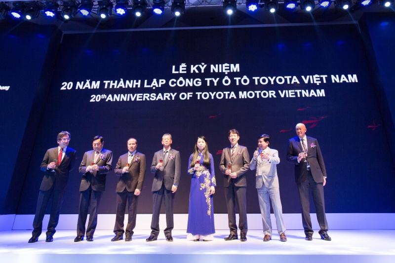 Lễ kỷ niệm 20 năm thành lập công ty ô tô Toyota Việt Nam