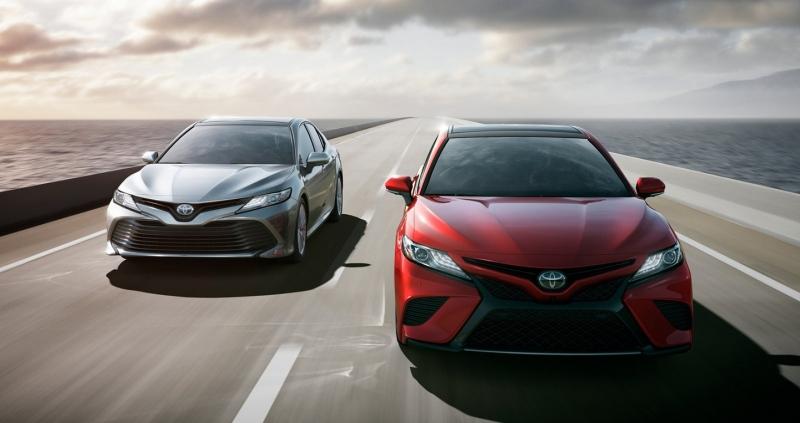 Hình ảnh Toyota Camry 2018