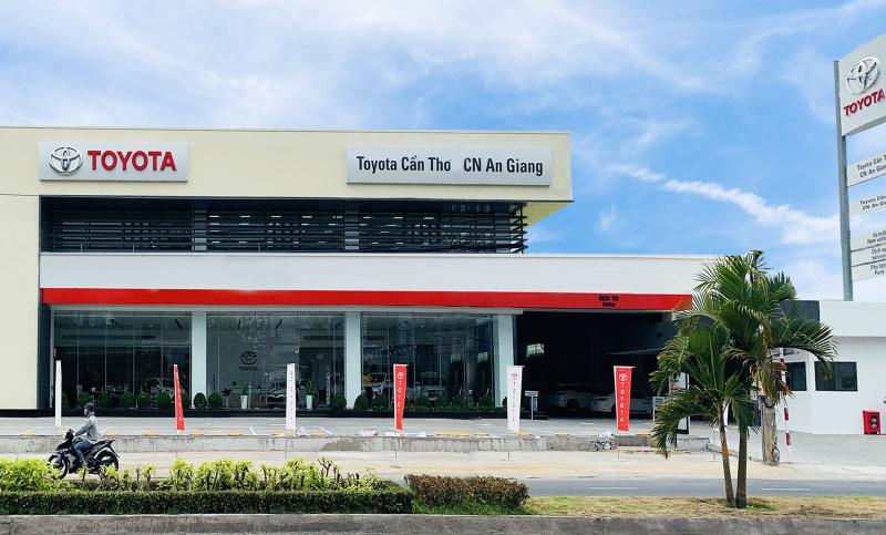 Toyota Cần Thơ – chi nhánh An Giang
