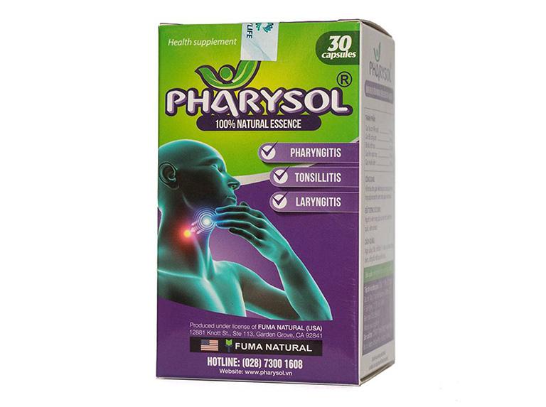 Viên uống Pharysol