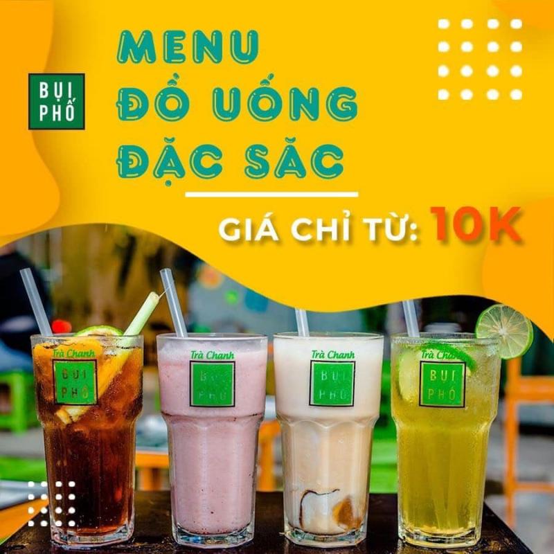 Trà Chanh Bụi Phố Uông Bí