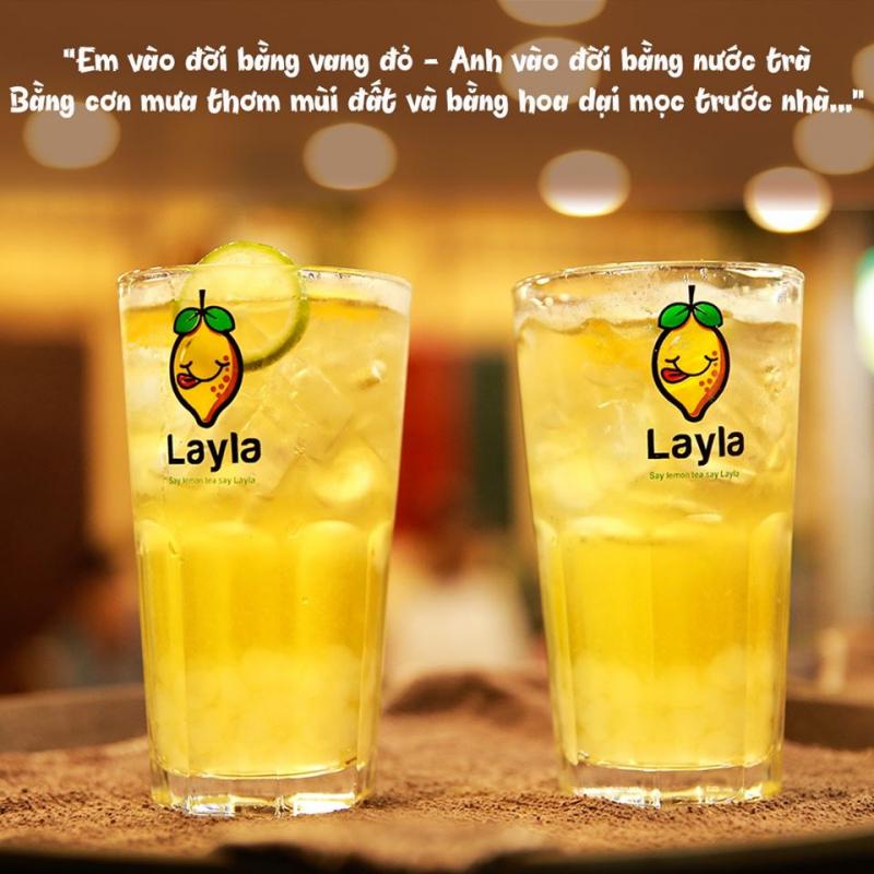 Trà chanh Layla