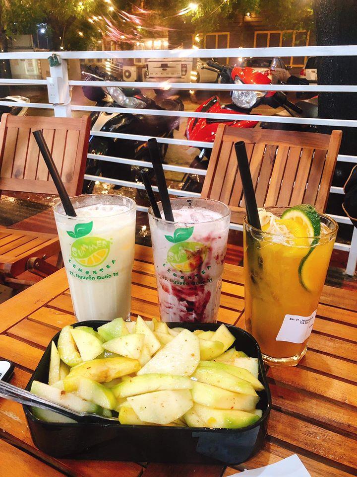 Những món đồ uống được yêu thích khác của quán (Nguồn: Trà chanh Summer Tp Vinh)