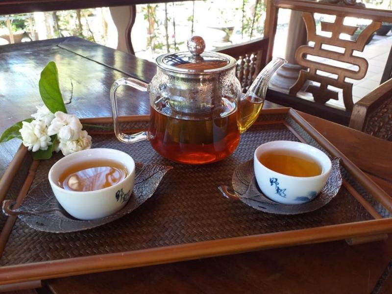 Ấm trà tại tại Trà Vũ Di