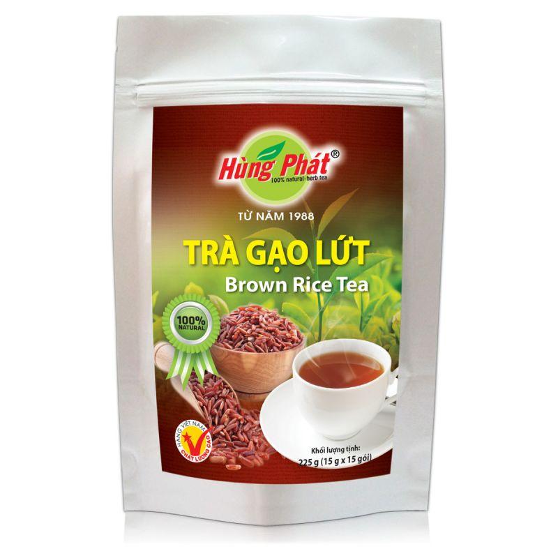 Trà gạo lứt Hùng Phát