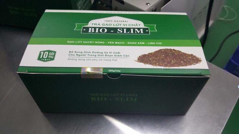 Trà gạo lứt vi chất Bio Slim