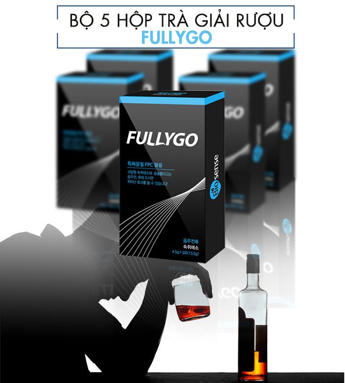 Trà giải rượu FullyGo