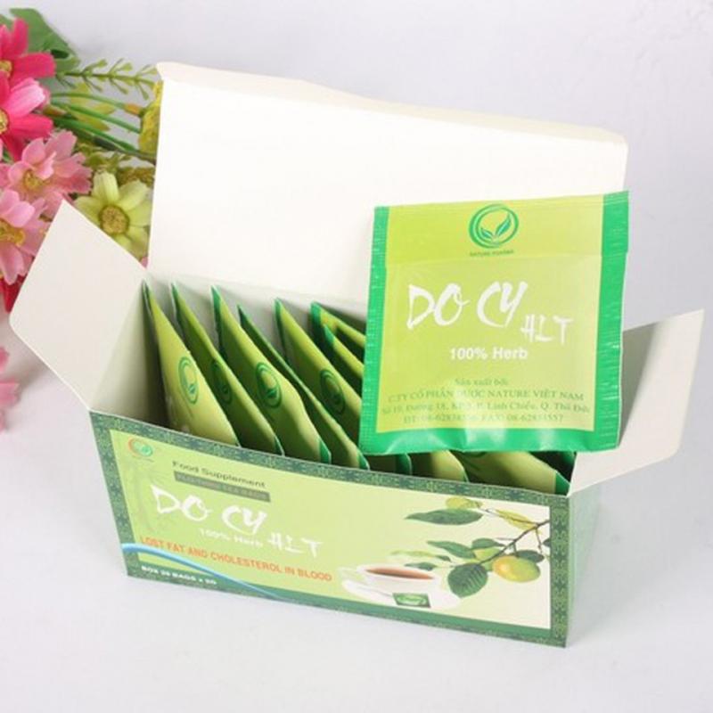 Thành phần chủ yếu có trong trà giảm cân Docy là chiết suất từ quả Sơn Tra và Cam Thảo, nên trà Docy còn được gọi là trà giảm cân Sơn Tra.