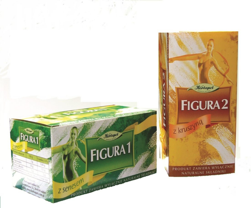 Trà giảm cân Figura được tinh chế hoàn toàn từ 100% nguyên liệu thảo mộc