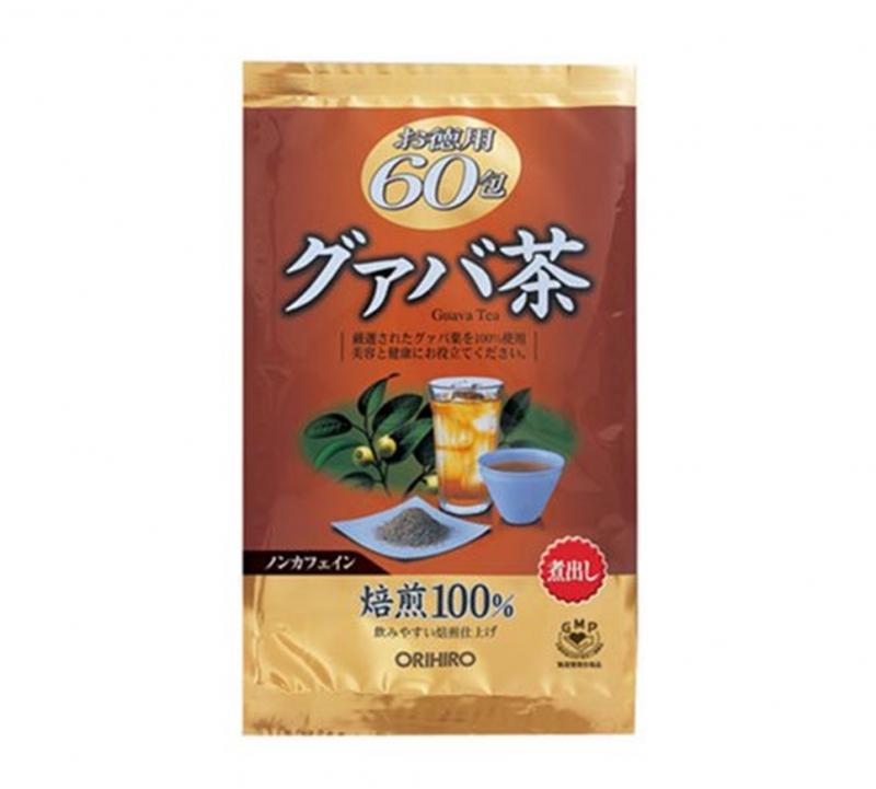 Trà Giảm Cân Tinh Chất Lá Ổi Orihiro Guava Nhật Bản