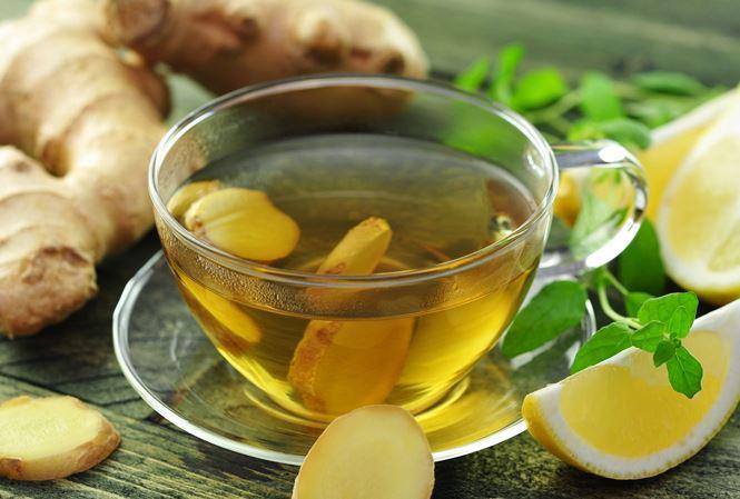 Uống trà gừng vào buổi sáng tốt cho cơ thể