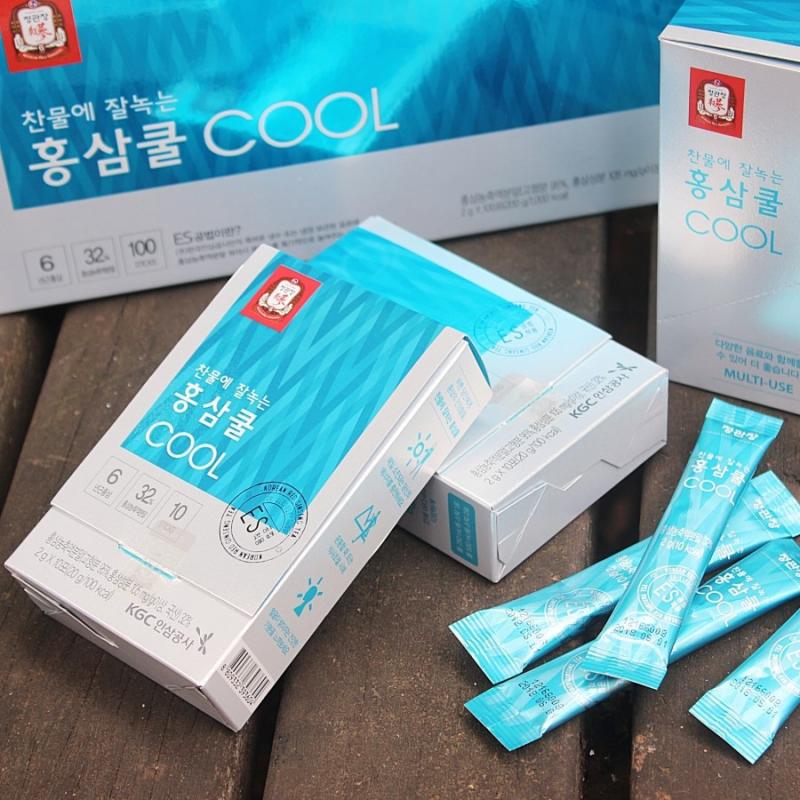 Trà hồng sâm hòa tan KGC Cheong Kwan Jang tea cool