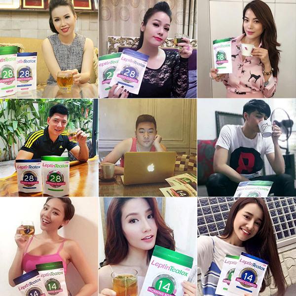 Rất nhiều ca sĩ, diễn viên, hotgirl, gymer đã và đang sử dụng trà Leptin Teatox để giảm cân
