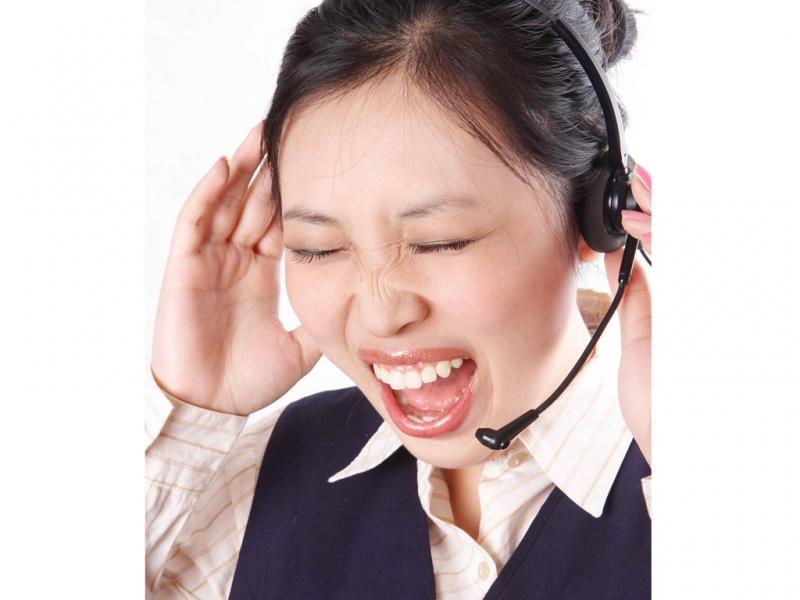 Mệt mỏi, căng thẳng về các cuộc điện thoại liên tiếp.