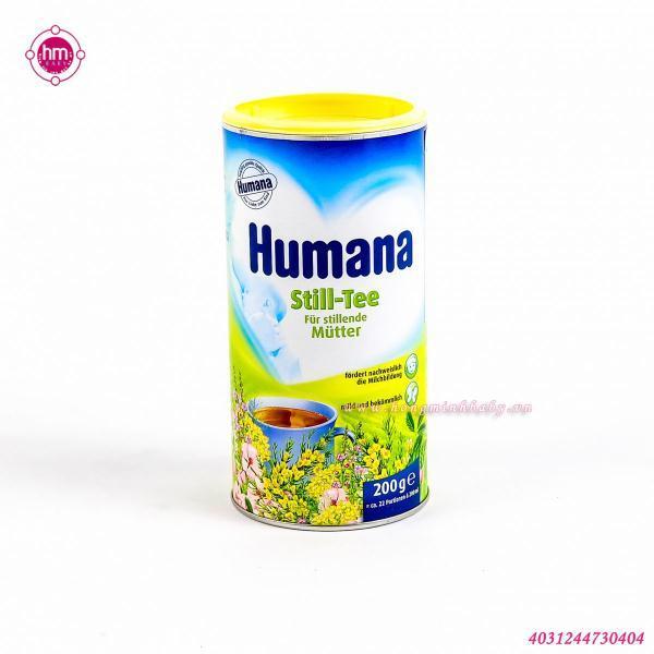 Trà cốm thảo dược hòa tan Humana
