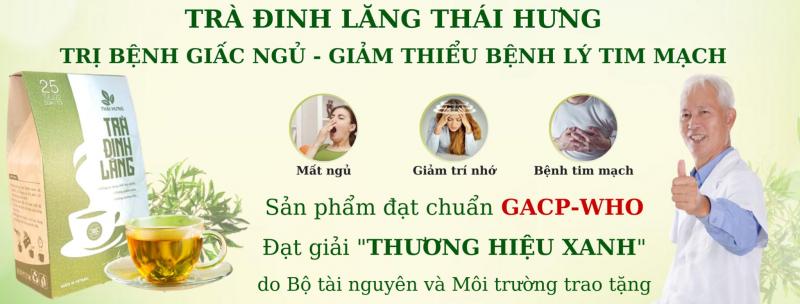Trà đinh lăng Thái Hưng
