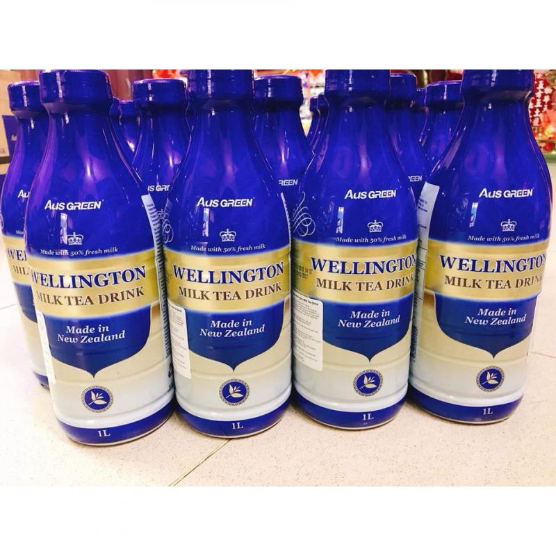 Trà sữa Aus Green Wellington Milk Tea Drink