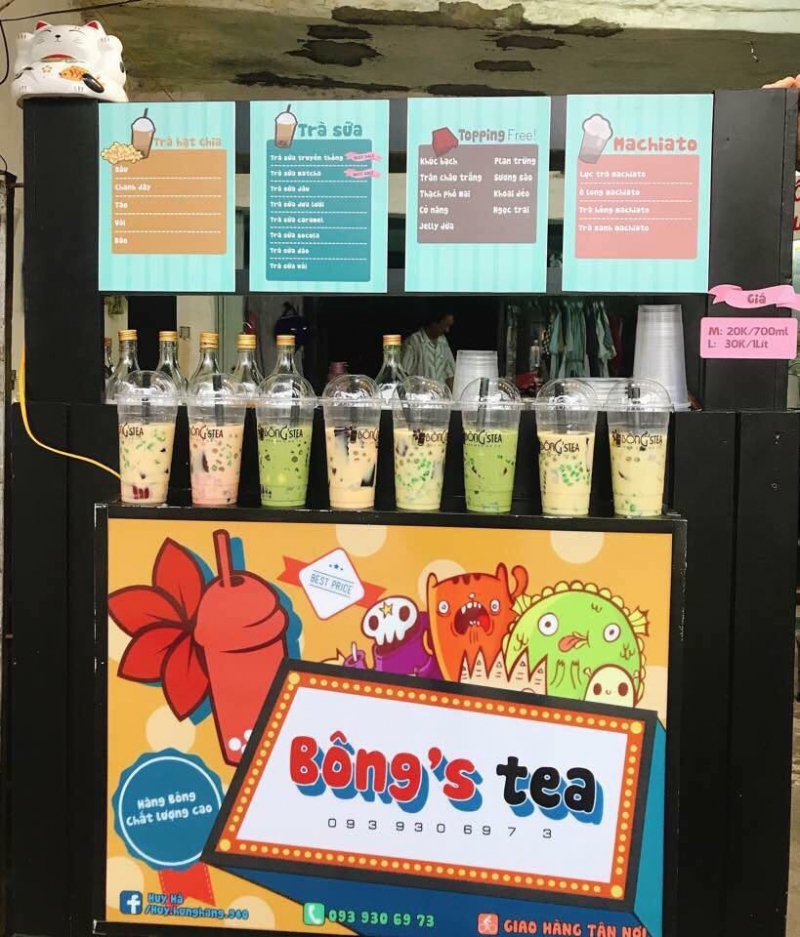 Trà sữa Bông Tea