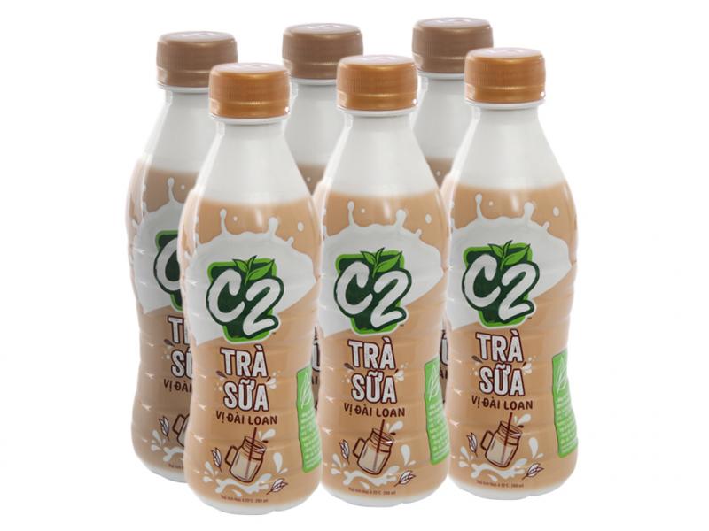 Trà sữa đóng chai C2