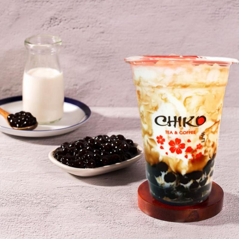 Sữa tươi trân châu đường đen Chiko