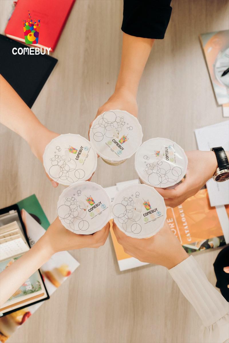 Nếu bạn là một fan trà sữa thứ thiệt thì chắc chắn sẽ khó lòng bỏ qua được thương hiệu trà sữa trứ danh Comebuy tại Sư Vạn Hạnh