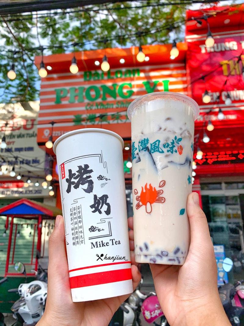 Trà sữa nướng Đài Loan Phong Vị