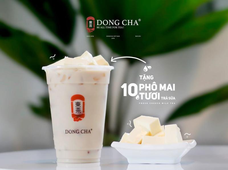 Trà sữa Dong Cha