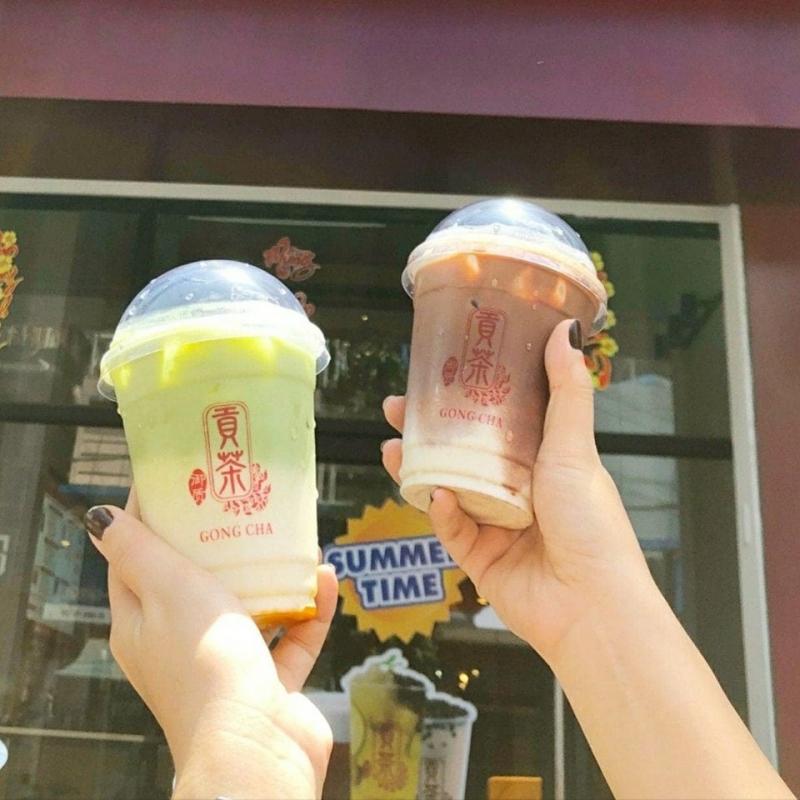 Trà sữa Gongcha Yuzhi