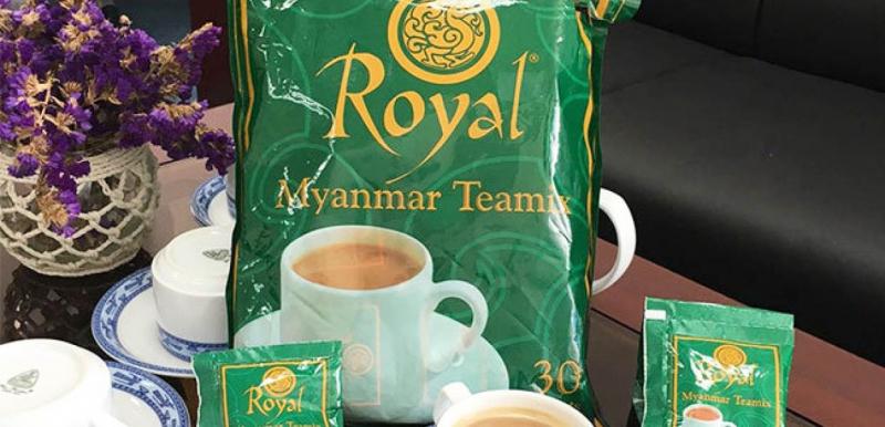 Trà sữa Myanmar Royal