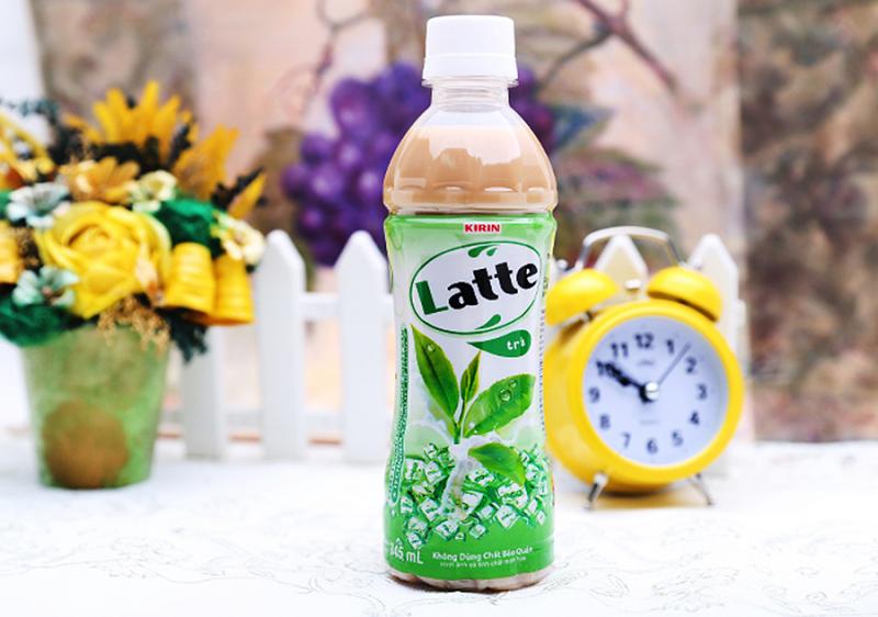 Trà sữa Latte Kirin