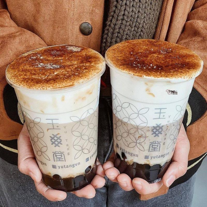 Trà sữa mùa đông trân châu nghệ nhân