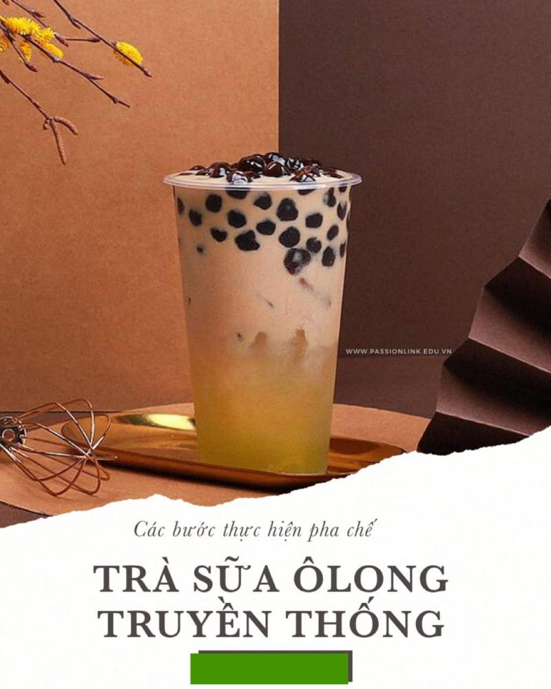Trà sữa Ôlong
