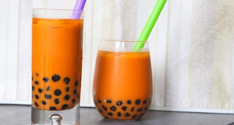 Trà sữa Thái là một thức uống hấp dẫn cả phần nhìn lẫn phần vị (Nguồn: Sưu tầm)