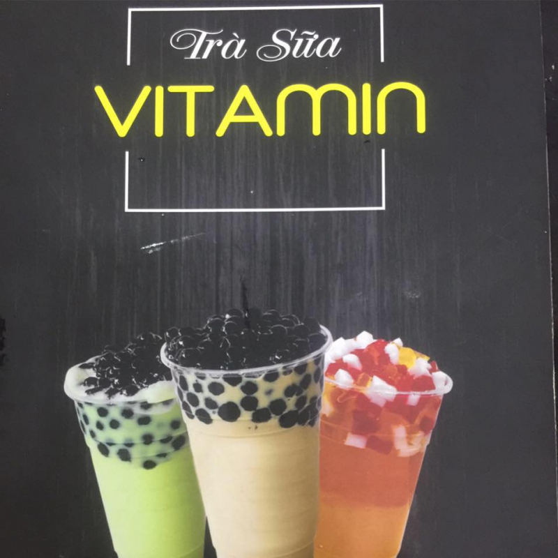Trà sữa Vitamin