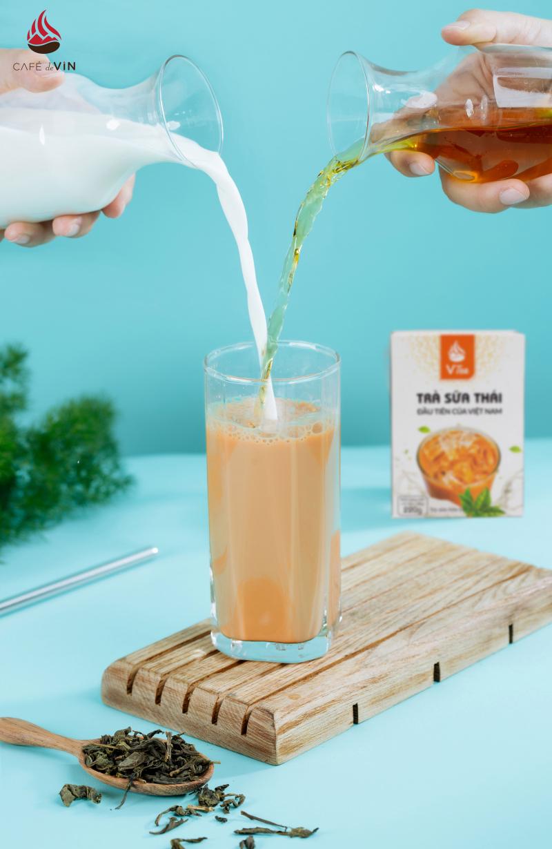 Trà Sữa VTea - Trà Sữa Thái Hòa Tan