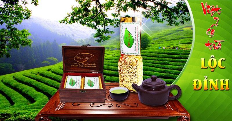 Việt cổ trà lộc đỉnh - trà đỉnh nõn Tân Cương, Thái Nguyên 165.000đ/100gr