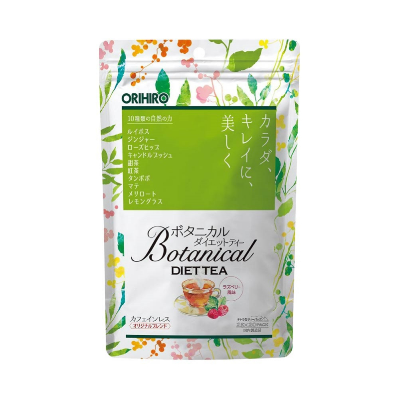 Trà thảo dược hỗ trợ giảm cân Orihiro Botanical Diet Tea