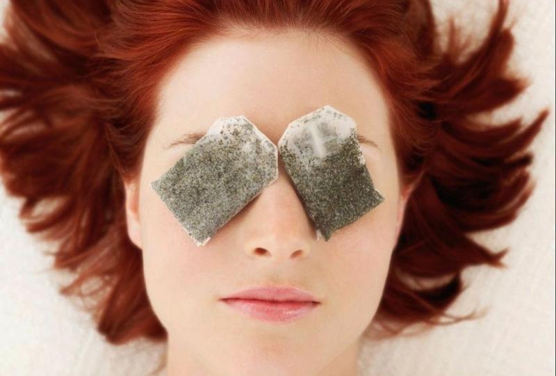 Trà túi lọc chăm sóc vùng da quanh mắt tối ưu