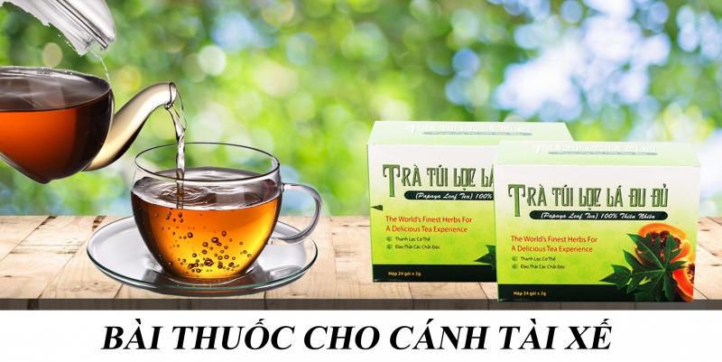 Chiết xuất 100% lá đu đủ Việt Nam thiên nhiên