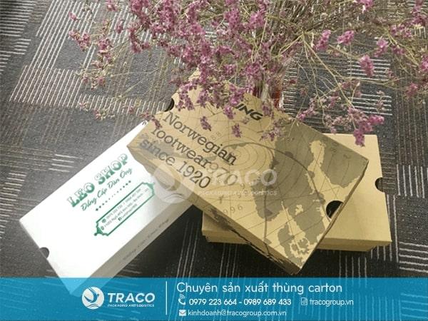 TRACO - Sản xuất - In ấn Thùng Carton/Hộp giấy giá rẻ tại Hà Nội