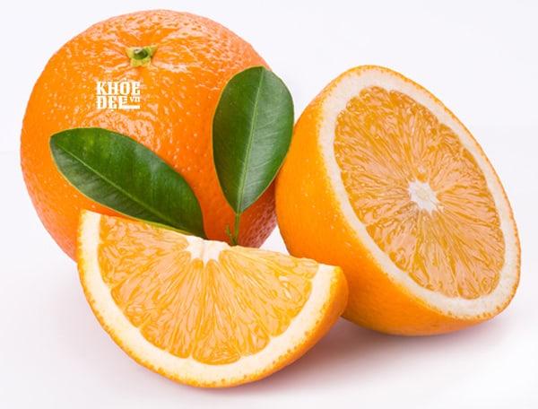 Trái cam là thực phẩm tăng cân hiệu quả