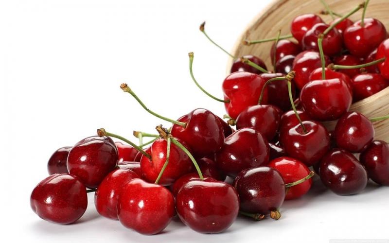 Cherry nhập khẩu từ mỹ.