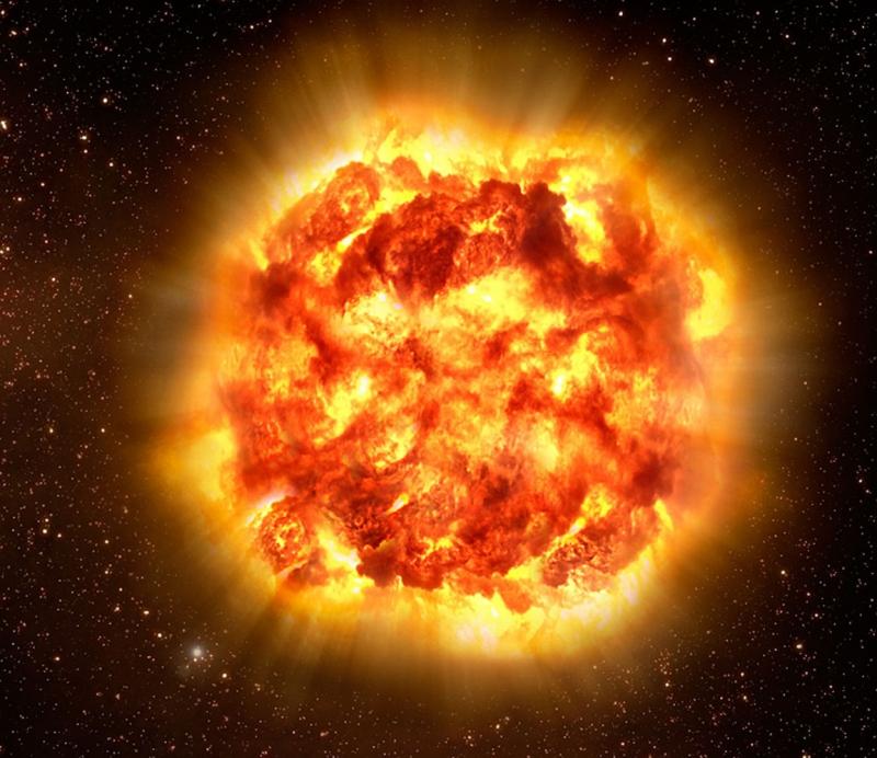 Một vụ nổ siêu tân tinh