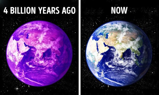 Trái đất từng có màu tím